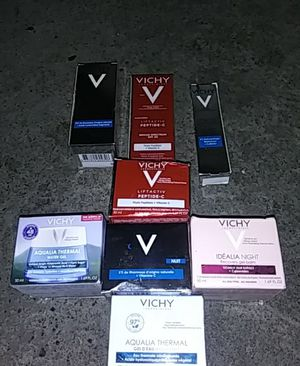 Vichy skin cream lot for Sale in Seattle, WA