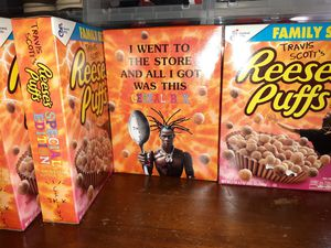 Travis Scott Cereal Reeses Puffs for Sale in Dallas, TX