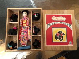 Antique Japanese Doll for Sale in Saugus, MA