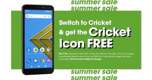 Save bunches by switching to cricket, With our free cricket icon !!!! for Sale in Victoria, TX