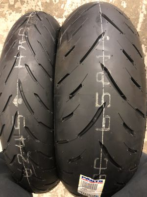Dunlop motorcycle tires for Sale in Brooklyn, NY