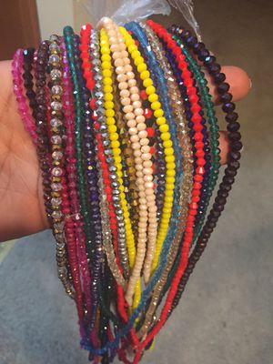 Dazzling Waist beads all sizes for Sale in Woodstock, MD