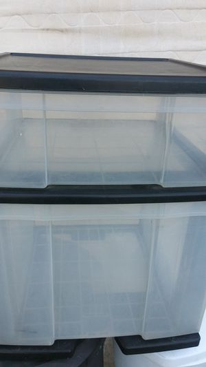 Plastic drawer for Sale in San Diego, CA