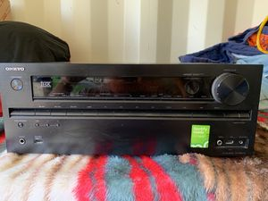ONKYO TX-NR616 7.2 Ch. Home Theater Receiver Surround Stereo for Sale in Monterey Park, CA