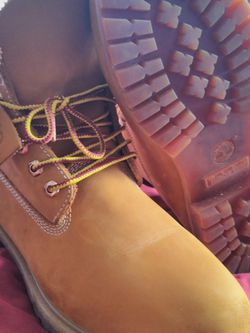 """Timberland Boots """"Butters/Wheats"""" Sz 11 Fits Sz 12 for Sale in Washington,  DC"""