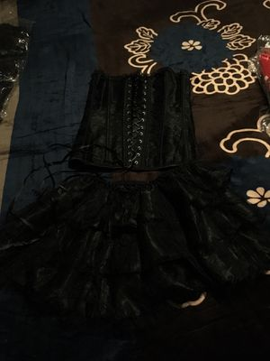 Black corset and tutu for Sale in West Valley City, UT