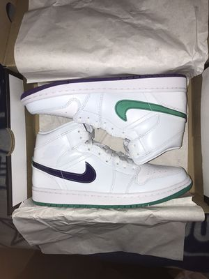"""Air Jordan 1 Mid """"Mindfulness"""" (luka doncic) size 8 for Sale in Gambrills, MD"""