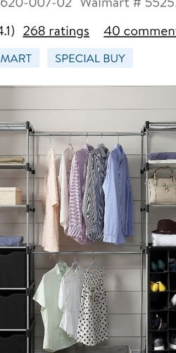 Mainstays Double Hanging Closet Organizer for Sale in Renton,  WA