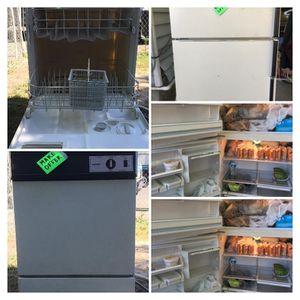 Fridge and a dishwasher for Sale in Salt Lake City, UT