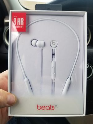 Beats X wireless Bluetooth earbuds *new* for Sale in Fishers, IN
