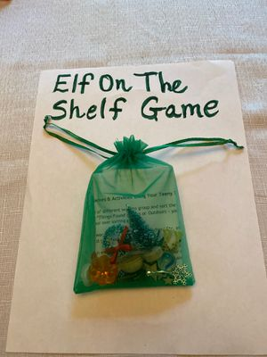 Game Bag for Elf on the Shelf!! for Sale in Olympia, WA