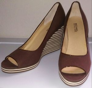 Michael Kors Authentic Brand New High Wedges Heels Shoes for Sale in Houston, TX