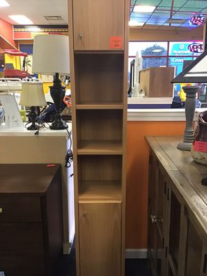 Tall Slim Storage Shelf for Sale in Virginia Beach, VA