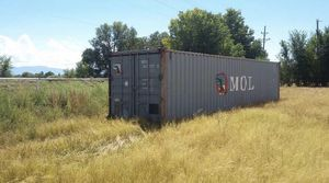 Crazy prices on used 40' shipping containers for Sale in Sioux Falls, SD