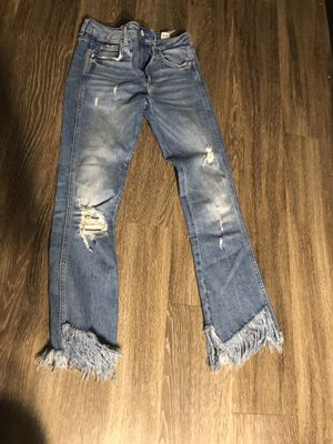 Fringe jeans from Zara for Sale in West Palm Beach, FL