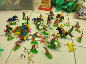 Vintage Knights and cowboys England metal stands 1971 for Sale in Oakland Park, FL