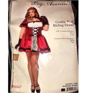 Gothic Red Riding Hood Halloween Costume for Sale in Nottingham, MD