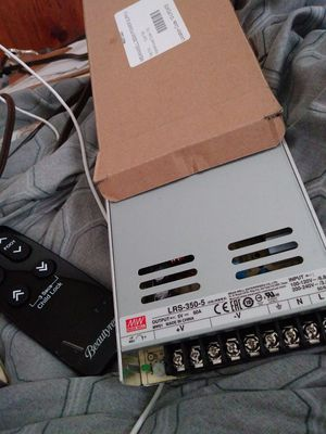LRS-350 -5 MEANWELL Switch mode power supply. for Sale in Springfield, IL
