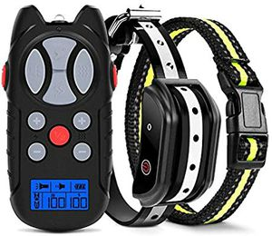 Flittor Shock Collar for Dogs, Dog Training Collar, Rechargeable Dog Shock Collar with Remote, 3 Modes Beep Vibration for Sale in Thousand Oaks, CA
