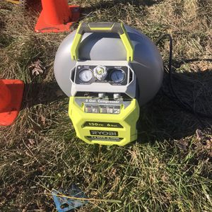 Ryobi air Compressorf or sale use one time for sale for Sale in Catonsville, MD