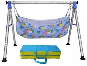 Brand new Baby Cradle N Swing Ghodiyu with Indian Style Hammock for Sale in South Elgin, IL
