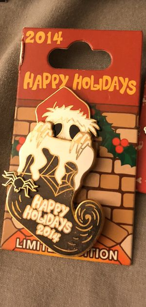 Special edition 2014 holiday The Nightmare Before Christmas Disney Pin for Sale in Ontario, CA