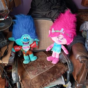 26 inch tall Poppy and Branch Troll Plushes for Sale in Fontana, CA