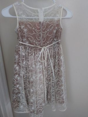 Champagne color Flower Girl Dress size 5/6 for Sale in Oviedo, FL