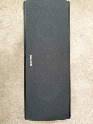 Used Onkyo Center Channel Speaker for Sale in San Francisco, CA