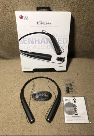 Brand New LG Tone Pro Bluetooth wireless headset Black for Sale in San Antonio, TX