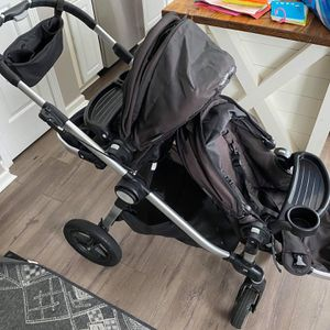 City Mini Double Jogging Stroller And Rain Cover for Sale in Roswell, GA