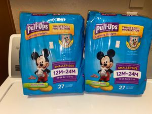 Huggies Pull Ups for Sale in Gilbert, AZ