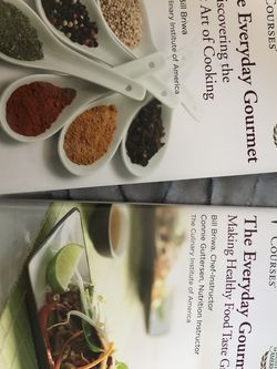 The Everyday Gourmet, 2 Books by The Great Courses for Sale in New Braunfels,  TX