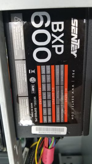 600 watts power supply for Sale in Tampa, FL