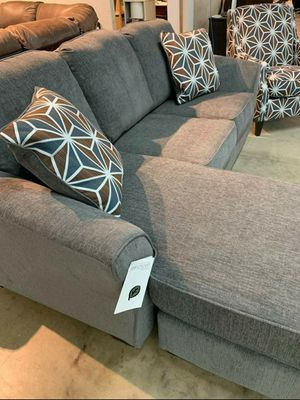 Brand new in the box                     Brise Slate Sofa Chaise for Sale in Jessup, MD