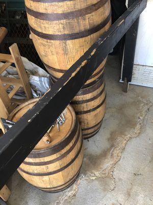 American oak barrels still a lot of life $40 each for Sale in Providence, RI