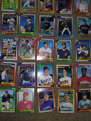 1990 topps baseball cards for Sale in Las Vegas, NV