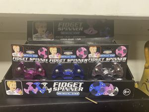 Fidget spinner metallic star 3 different colors for Sale in Sun City, AZ