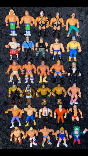 WWF WWE Wrestling figures vintage Hasbro Lot for Sale in The Bronx, NY