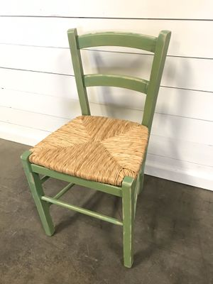Cute small green kids chair for Sale in Denver, CO