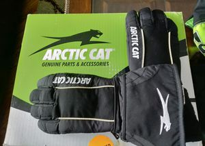 Arctic Cat Snowmobile Gloves, Leather Palm, Thinsulate Lined, New - Never Used for Sale in Homer Glen, IL