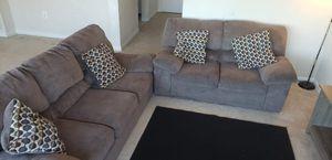 sofa ,loveseat,toss pillows for Sale in Alexandria, VA