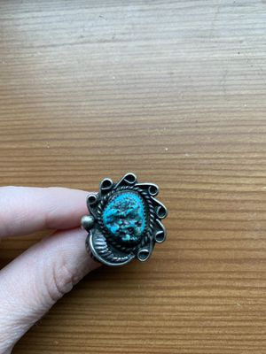 Vintage Native American Turquoise Ring 8.5 for Sale in Bellingham, WA