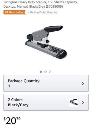 Swingline Heavy Duty Stapler and Electric Stapler NEW for Sale in Payson, AZ