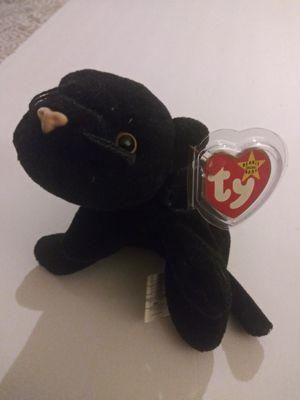Beanie baby Velvet the black panter for Sale in Fremont, CA