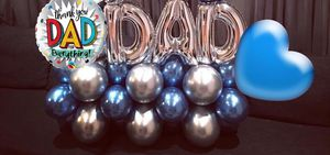Father day balloon bouquet for Sale in Sanger, CA
