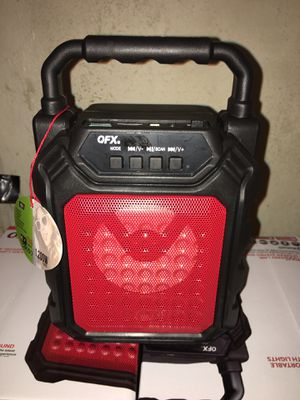 "Mini Bluetooth Speaker 1200 Watts 4"" Speaker 🔊 FM Radio Micro SD Slot BOCINA BLUETOOTH CHICA RECARGABLE for Sale in Riverside, CA"