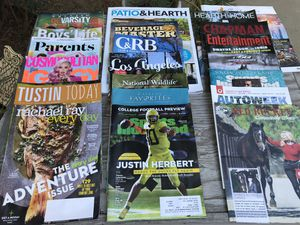 FREE!! MAGAZINES - many topics - 2019 current. FREE!! for Sale in Santa Ana, CA