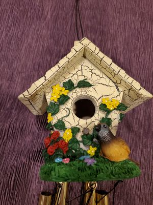 Bird house wind chimes, NEW for Sale in Burtonsville, MD