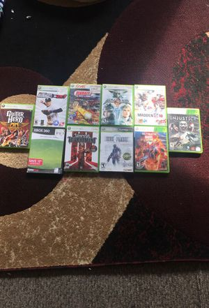Xbox 360 games for Sale in Enumclaw, WA